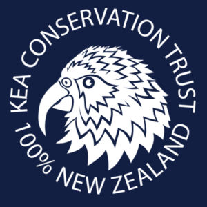 Kea white stamp Design